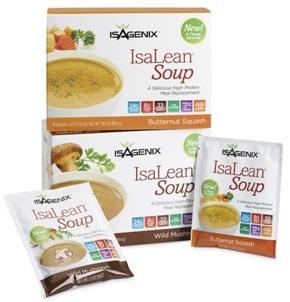 Butternut Squash IsaLean Soup