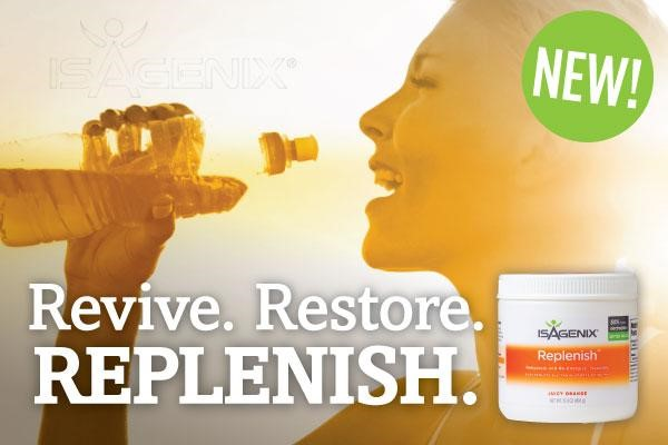 Revive, Restore, Replenish